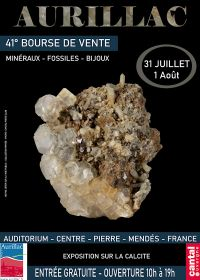 41st Minerals, Fossils and Jewelry Exchange in Aurillac