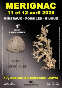 1st edition of the fair for minerals, fossils and jewelry