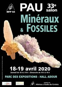 33rd Minerals and Fossils Show