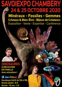 Minéralexpo Chambéry Minerals Fossils Gems