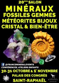 20th Salon MinéralEvent Saint-Raphaël - Minerals, Gems, Fossils & Jewelry