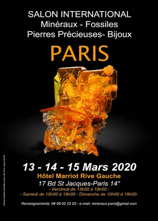 International fair, minerals, fossils, gems, jewelry