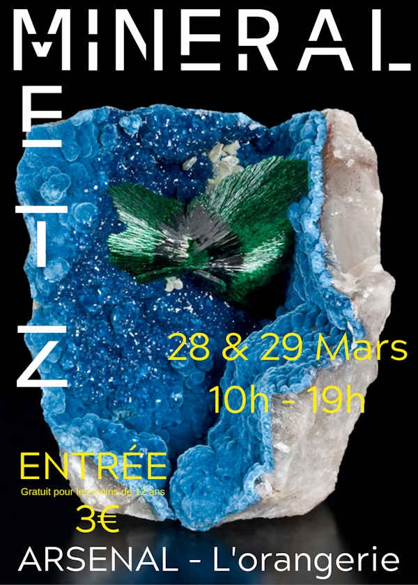 Fair for minerals, fossils and gems