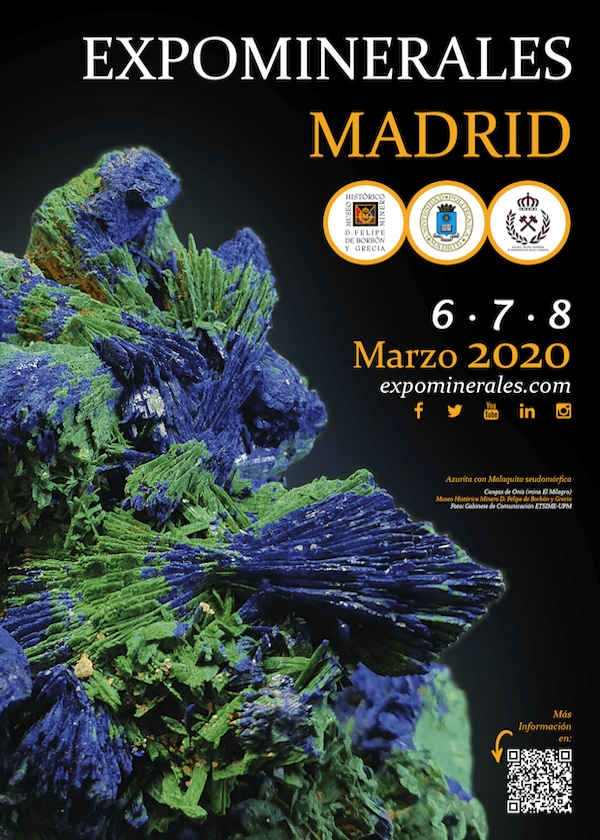 Madrid 2020 mineral exhibition