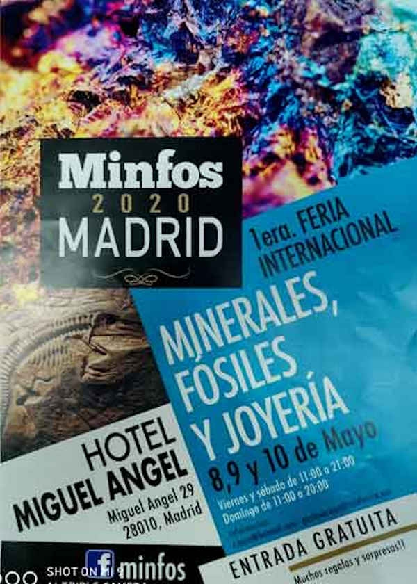 1st International Fair of Minerals, Fossils and Jewelry