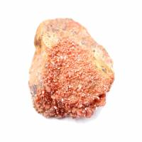 Vanadinite crystals on gangue