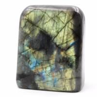 Free Form Labradorite Stone Block Madagascar