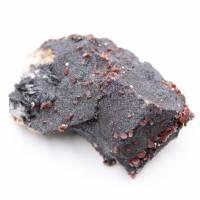 Vanadinite crystals on gangue