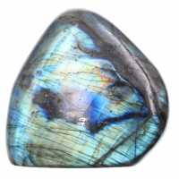Multicolored labradorite, free form for decoration