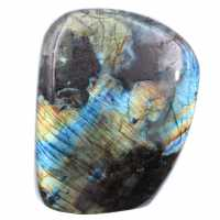 Labradorite with multicolored reflections for ornament