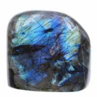 Blue Polished Block Labradorite Stone