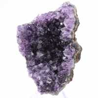 Amethyst crystals