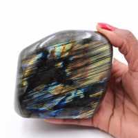 Polished labradorite for collection