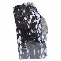 Large Snowy Obsidian Block