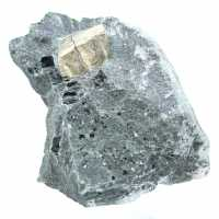 Magnetite and pyrite