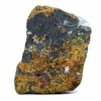 Colored raw chalcopyrite