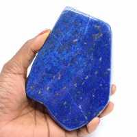 Free form in Lapis-lazuli