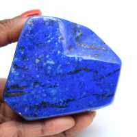 Lapis lazuli for collection