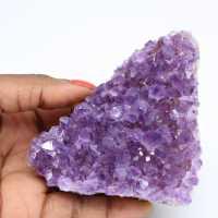 Crystallized amethyst