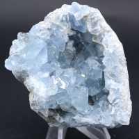 Celestite crystal stone