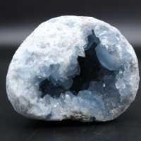 Natural crystallized celestite