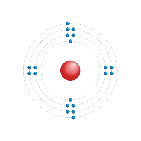 Calcium Electronic configuration diagram