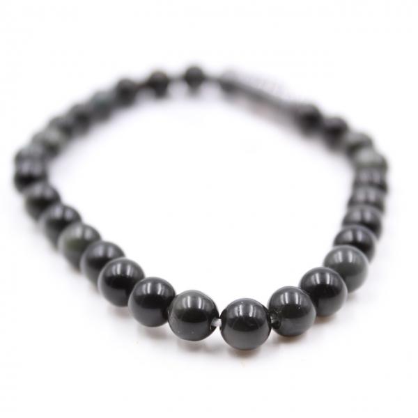 Obsidian bracelet 6 mm