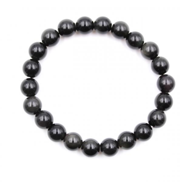Obsidian bracelet 8 mm
