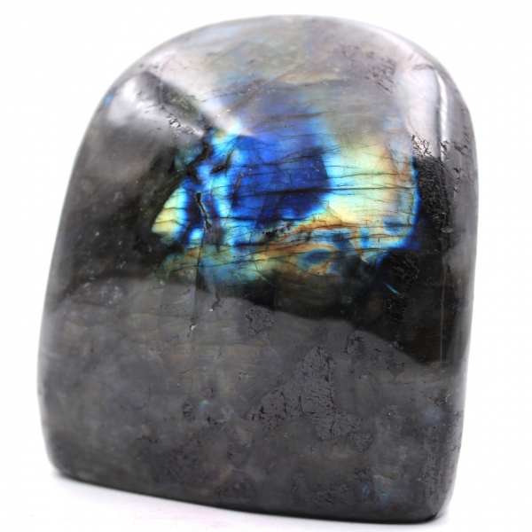 Labradorite stone block for decoration and collection
