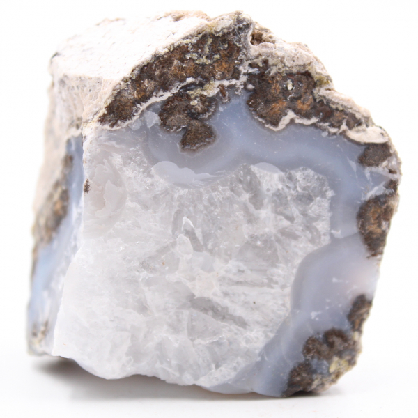 Piece of coconut agate from Mexico