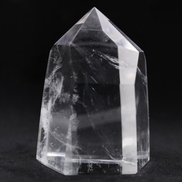 Rock crystal prism
