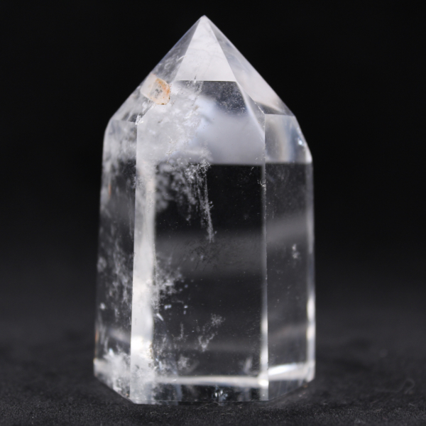 Rock crystal prism