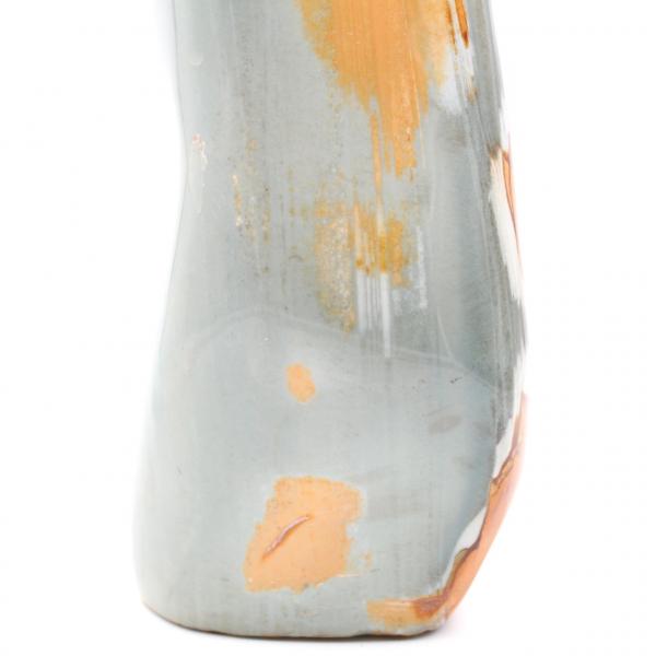 Printed jasper freeform polished blue orange 3 kilo