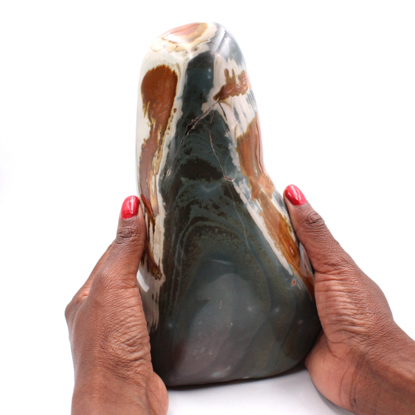 2.5 kilo printed jasper, decorative stone