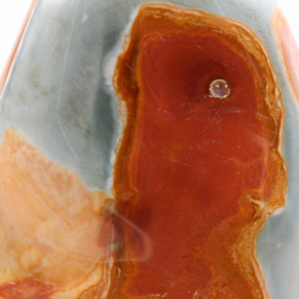 Decorative stone in printed jasper, 3.5 kilo