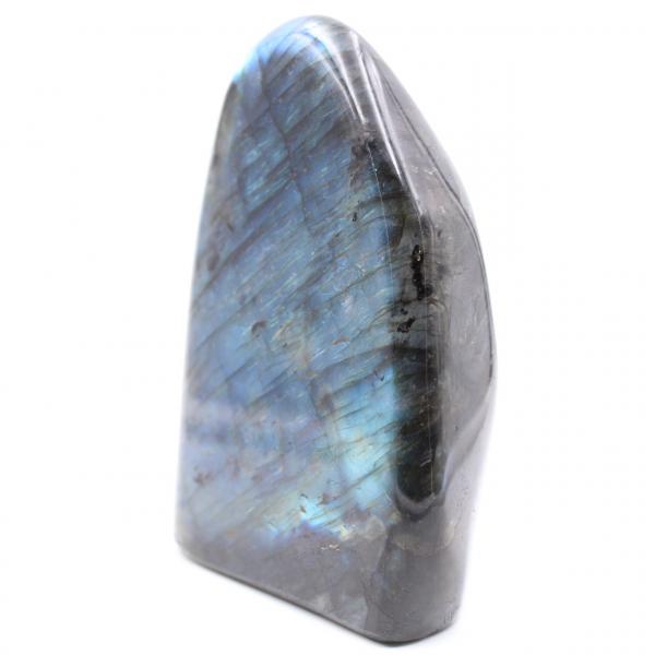 Block of blue labradorite, ornamental stone