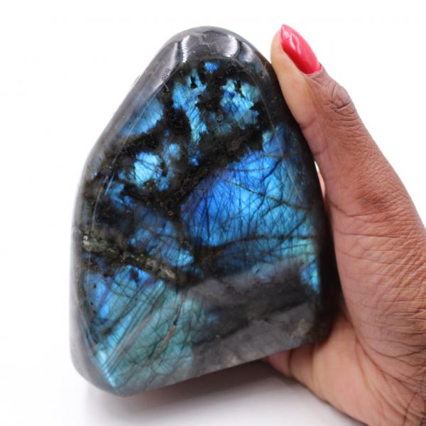 Labradorite laying stone