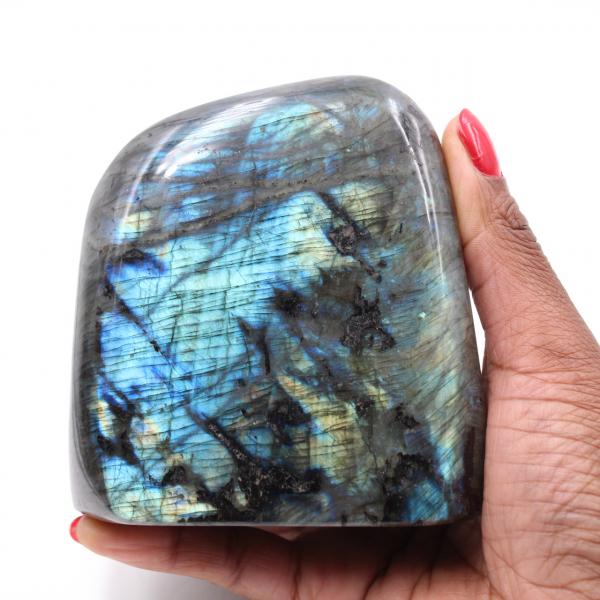 Labradorite block