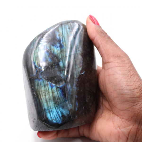 Labradorite polished stone