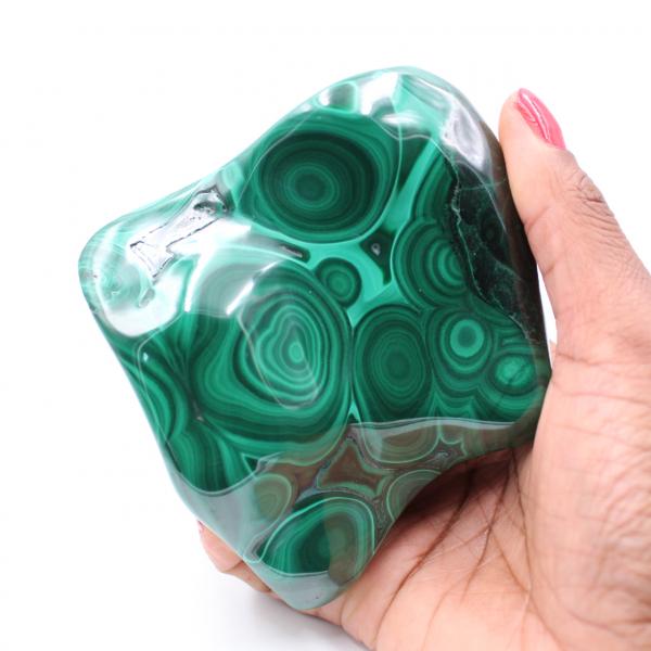 Polished Malachite Stone