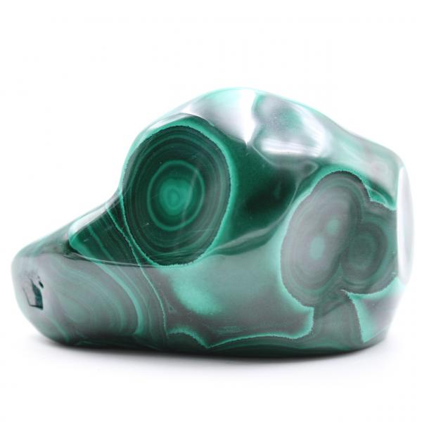Malachite polished stone
