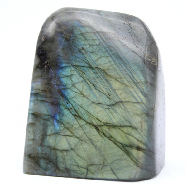 Polished labradorite for decoration