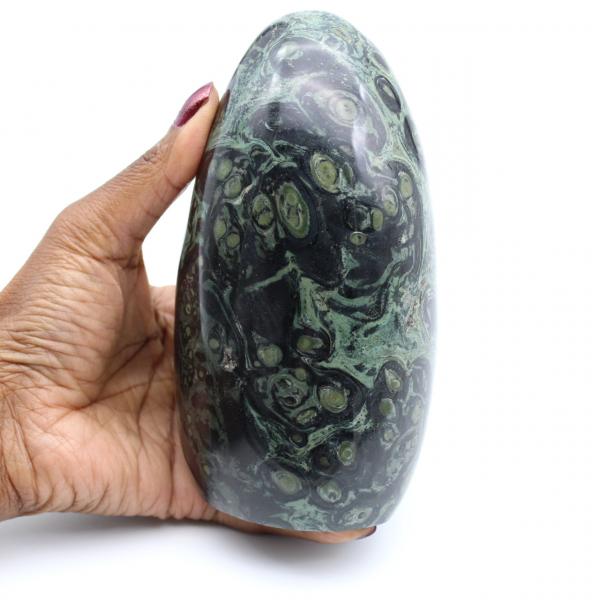 Polished kambaba jasper stone