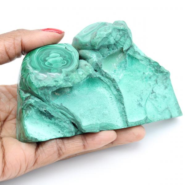 Malachite for decoration