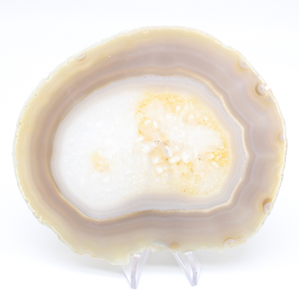 Slice of natural agate