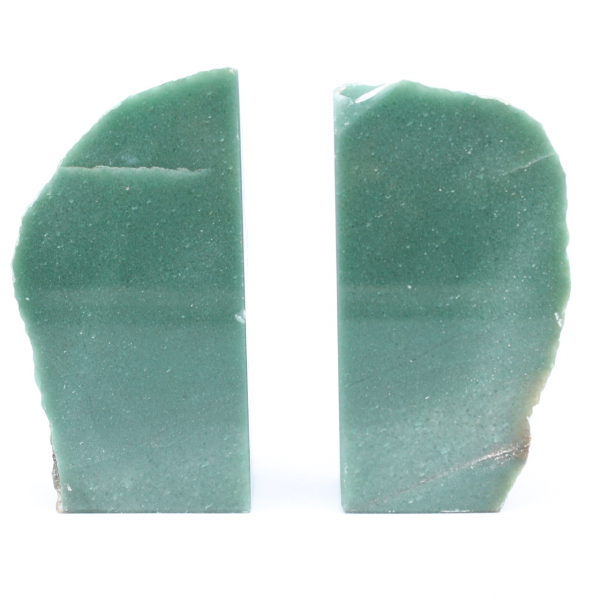 Aventurine bookend 2 pieces