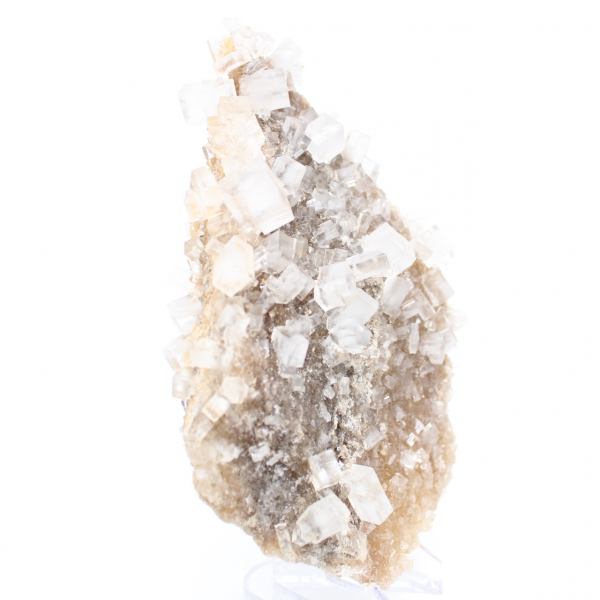 Rock salt crystals