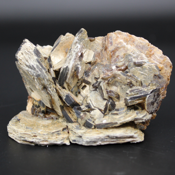 Group of mica crystals