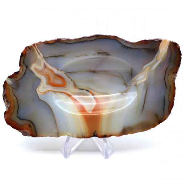Agate ashtray