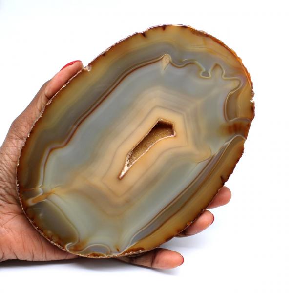 Slice of agate